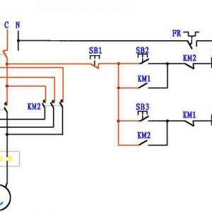 电机正反转控制电路图原理图解
