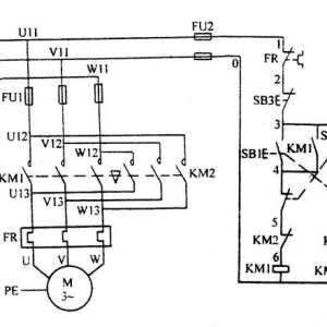 交流接触器自锁和互锁