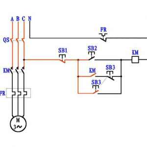 接触器点动加自保电路原理图解