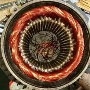 电动机绕组线径的代换原则