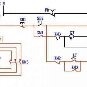 看不懂电动机星三角降压启动电路图?4张图让你彻底搞清楚