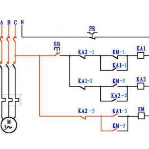 一个按钮控制电机启动停止电路原理图解 很多老电工都搞不懂