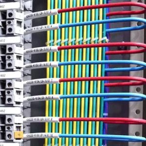 电气二次回路常用电缆和电缆所用芯编号