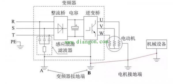 变频器怎么接线(变频器接线图详解)?