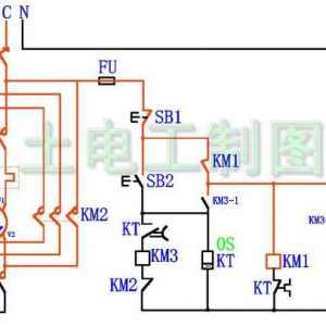 星三角降压启动电路比较常见的 有没有缺陷
