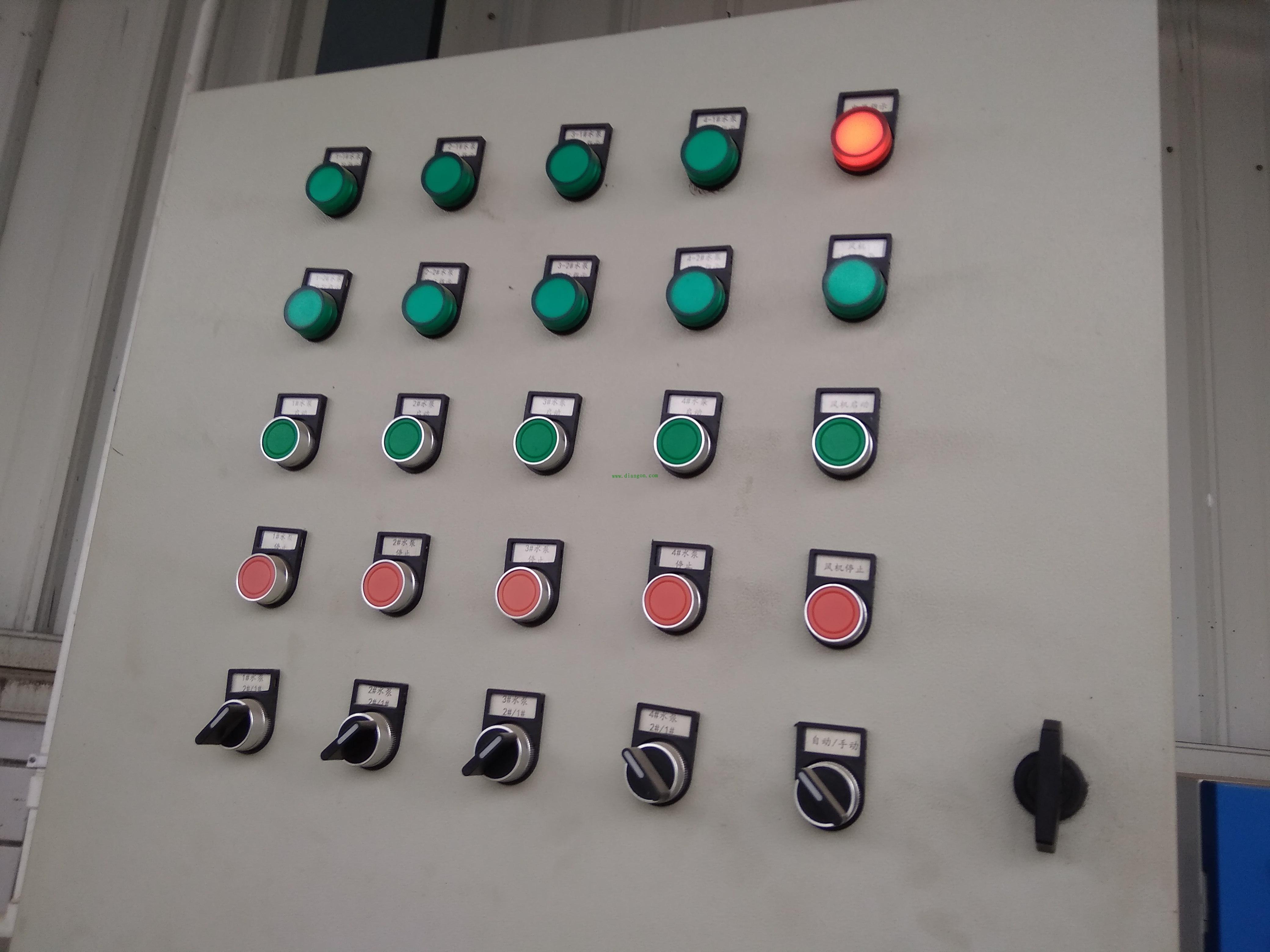 22mm按钮开关指示灯标识牌电气柜配电箱标籤 按钮铝标牌金属...