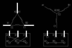 星三角降压启动电机 星形连接和角形连接转速一样吗