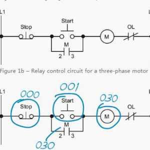 电机启动的简单电路