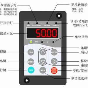 如何將變頻器上的30Hz改成50Hz?