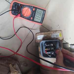 单相电机三根线如何快速确定启动线和运行线