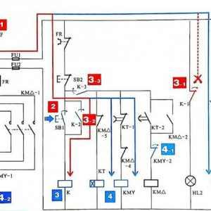 星三角主线路怎么有两种接法?电机星三角启动主电路的两种接线方式原理图解