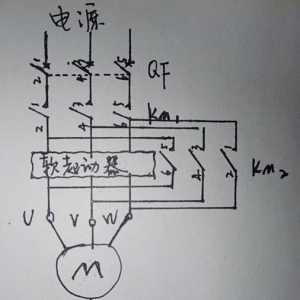 身为电工你知道最实用的软启动控制电路是哪种吗