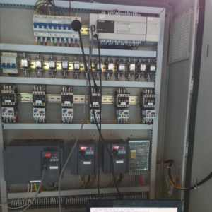三菱FX3U PLC與三菱變頻器多從站通信