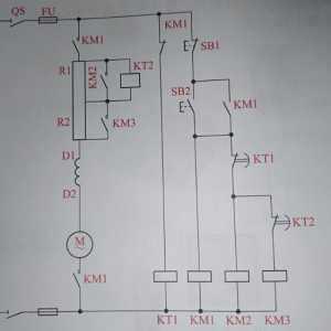 說說一張串勵直流電動機啟動電路圖