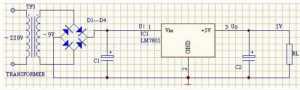 7805典型應用電路