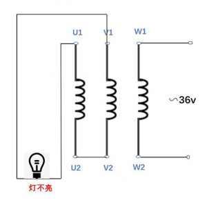 怎么判斷三相異步電動機的首尾端?判斷三相異步電動機三相繞組首尾端方法圖解