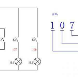 二次线路控制电路线的♂编号原则_电气线路接线编号方法