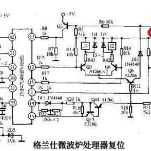 格兰仕微波炉通电后显示屏有数字不停跳动是什么问题?怎么检修?