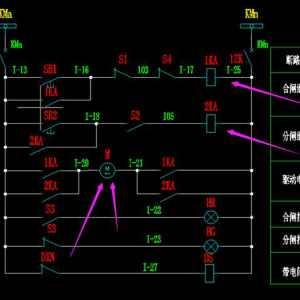 SF6負荷開關的控制電路圖