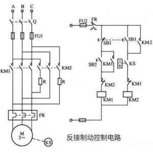 三相異步電動機反接制動的原理和實施方法圖解