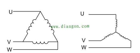 星型接法和三角形接法電流計算