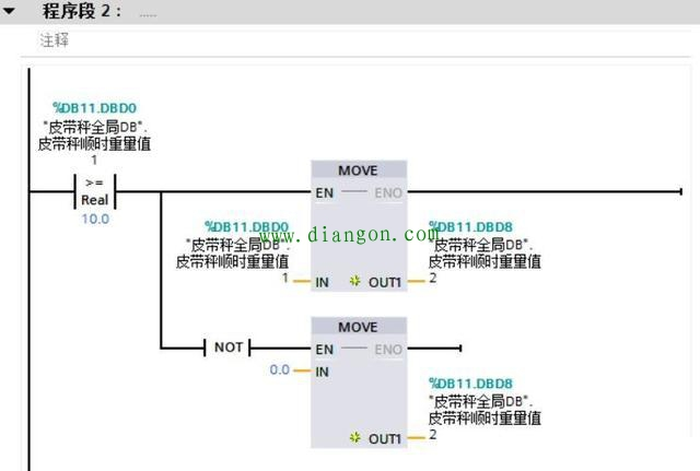 用西门子STEP7编程软件编写流量累计程序