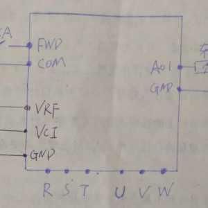 变频器车速不稳老电工判断是电位器故障 实际故障出在它身上!