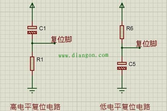单片机复位电路的作用和工作原理图解