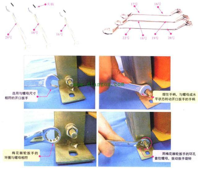 扳手的分类和使用方法