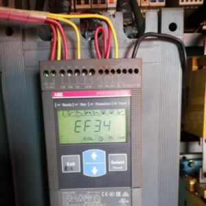 ABB软启动器故障修复始末