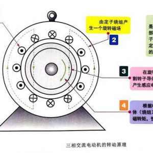 电机磁极对数怎么看?三相异步电机磁极对数计算_电机极对数和槽数的关系