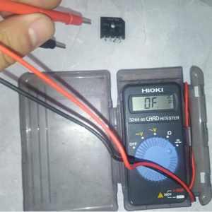 电工必知整流桥好坏的两种检测方法