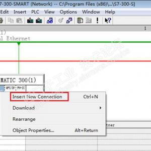 西门子S7-300PLC与S7-200的SMART系列进行以太网S7通信