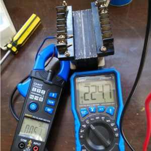 老电工制作小功率隔离变压器